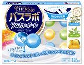 日本 白元HERS 花果香柔滑 泡澡球 入浴劑 入浴球(茉莉香+森林香+柚香)12枚 [霜兔小舖]