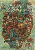 【收藏天地】台灣紀念品*明信片-寶島樂趣多 /文創 手帳 文具 禮品 小物 手冊