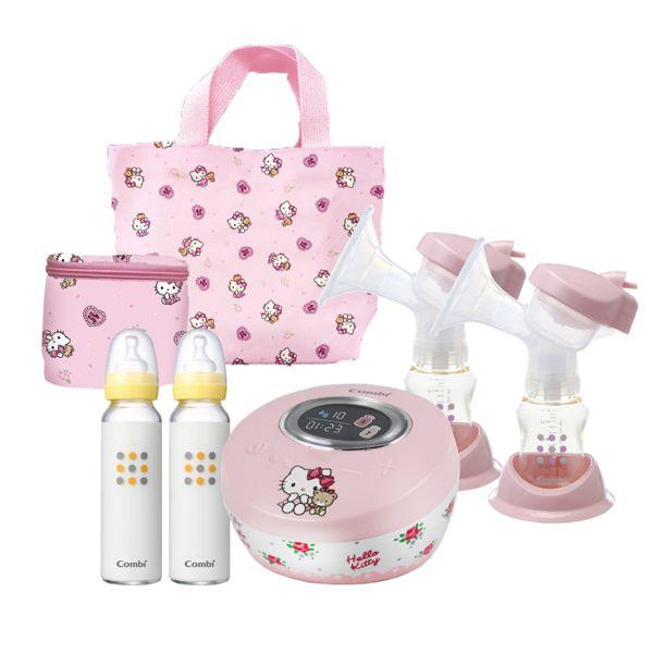 Combi 康貝 Hello Kitty 限量版雙邊電動吸乳器 送好禮