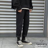 (快出)黑色牛仔褲男士寬鬆休閒直筒褲子韓版潮流冬季學生修身百搭長褲男