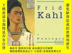 二手書博民逛書店Frida罕見Kahlo Postcard BookY256260 Frida Kahlo Chronicle