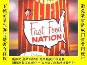 二手書博民逛書店Outlines罕見& Highlights For Fast Food Nation By Schlosser