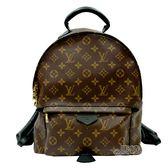 【Louis Vuitton 路易威登】M41561 PALM SPRINGS系列MM牛皮鑲飾拉鍊後背包