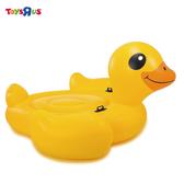 INTEX 大型黃色小鴨造型浮墊
