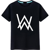 艾倫沃克DJ短袖純棉T恤Alan Walker T恤同款Faded電音夏季男女潮 麗人印象 免運