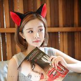 卡通發箍可愛超萌甜美洗臉發帶頭箍成人貓耳朵狐貍 歐亞時尚