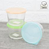 石塚硝子玻璃優格杯三入組275ml保鮮盒副食品保存盒日本製-大廚師百貨