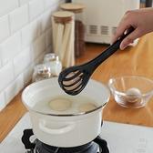 打蛋器多功能打蛋夾家用廚房攪拌打蛋夾菜二合一打蛋器手動撈面條夾抓勺 風馳