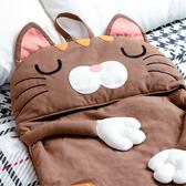 咖啡貓兒童睡袋/幼稚園睡袋