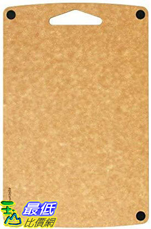 [8美國直購]無毛細孔砧板  Epicurean Professional Non-Slip Bar Prep Boards (16 X 10 Inch, Natural/Black)