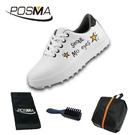 高爾夫球鞋 兒童運動鞋子男女童印花防水透氣球鞋 GSH126WORG
