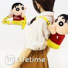 ﹝蠟筆小新造型後背包﹞正版 背包 收納包 書包 兒童包 蠟筆小新〖LifeTime一生流行館〗