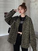 秋冬寬鬆夾克上衣秋季年新款韓版設計感兩面穿豹紋炸街外套女 【99免運】