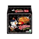 韓國 火辣雞肉風味鐵板炒麵140g*5包...
