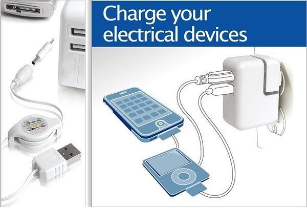 【世明國際】蘋果ipad 1 2 iPhone 4 4s 電源 充電器 充電頭 10W 2.1A 雙孔USB