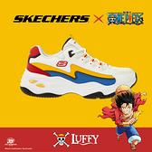 Skechers 休閒鞋 D LITES 4.0 女 航海王 One Piece 魯夫 草帽小子 白 海賊王【ACS】 896033-WMLT
