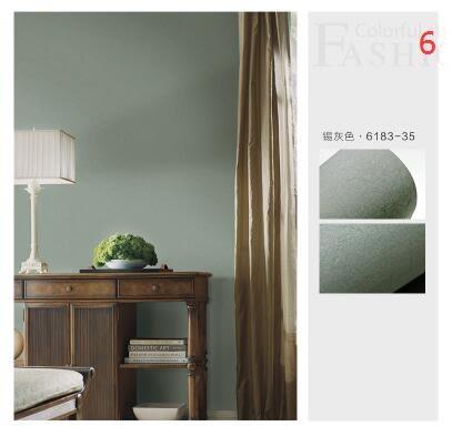 素色純色簡約現代蠶絲牆紙臥室客廳電視背景牆無紡布環保壁紙
