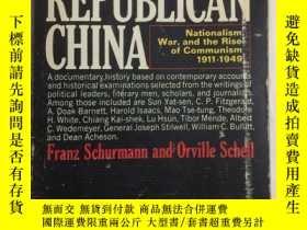 二手書博民逛書店Republican罕見China: Nationalism,
