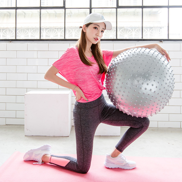《KS0201》美體運動防爆顆粒瑜伽球/健身球 OB嚴選