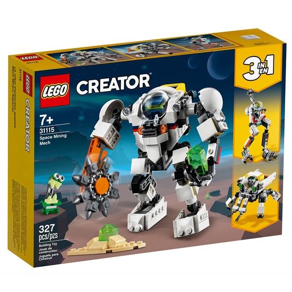 LEGO樂高 Creator 創意大師系列 太空採礦機械人_LG31115