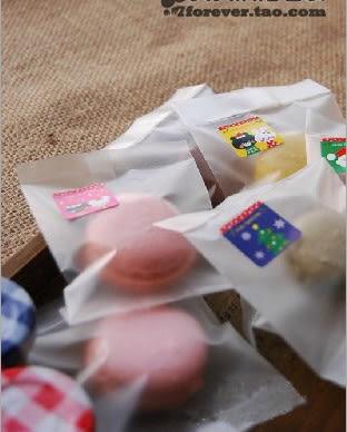 95入磨砂餅乾袋 需要用封口機封口