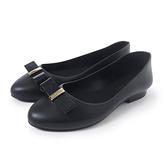 Petite Jolie 可愛小結飾果凍娃娃鞋-黑色