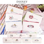 Disney迪士尼生活自然棉麻橫式手機袋/萬用包_TsumTsum Q版手繪