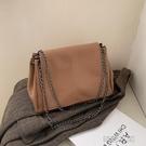 包包2021新款潮高級感鏈條單肩包斜挎女包百搭ins洋氣爆款腋下包側背包
