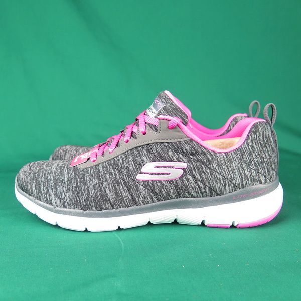 Skechers FLEX APPEAL 3.0 - INSIDERS 13067WBKHP 女款【iSport愛運動】