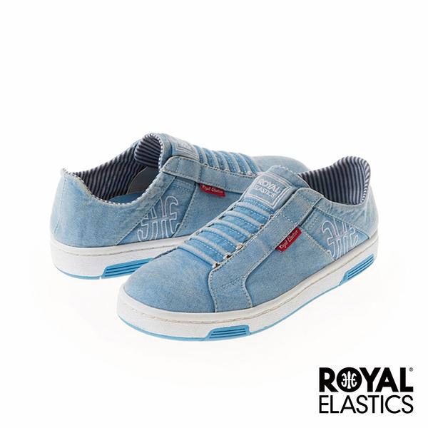 Royal Elastics Icon Washed 經典運動鞋-仿舊水洗藍