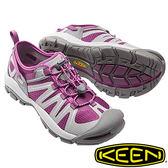 【KEEN 美國】MCKENZIE II 女護趾水陸 兩用鞋『紫/灰』1016798 健行|涼鞋|健走|海邊|沙灘鞋
