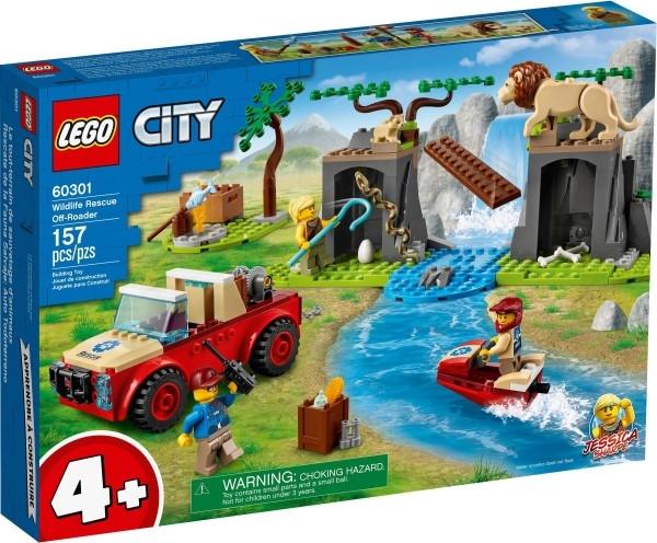 樂高LEGO CITY 野生動物救援越野車 60301 TOYeGO 玩具e哥
