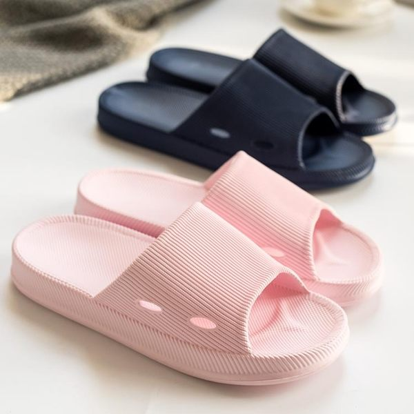 浴室拖鞋  家用室內夏天厚底可愛情侶洗澡拖防滑家居涼拖鞋男