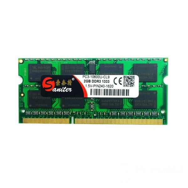 全兼容筆電記憶體 DDR3 1333 2G 筆電記憶體 兼容1600 可雙通4G