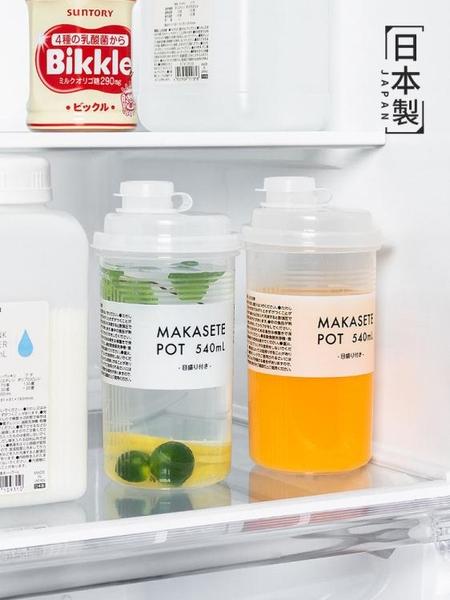 隨手杯冷水壺冰箱冷藏飲料果汁瓶便攜密封冷泡杯子涼水壺 伊蘿