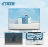 全包款 電腦貼紙華碩聯想筆電保護膜電腦膜外殼貼膜