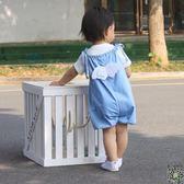 吊帶褲 薄款牛仔寶寶吊帶褲夏裝嬰兒大PP褲子兒童裝幼兒短褲男童女童小童