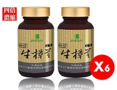 【康健世代】四倍濃縮牛樟芝膠囊(純素,500顆/組)X六組