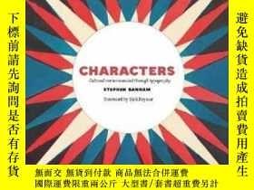 二手書博民逛書店Characters:罕見Cultural Stories Revealed thY237948 Stephe