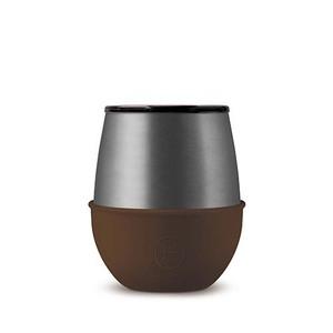 美國HYDY優雅蛋型杯 鈦灰x摩卡-240ml