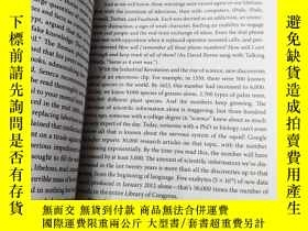 二手書博民逛書店The罕見Organized Mind:Thinking Str