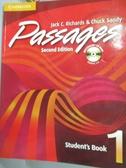 【書寶二手書T6/語言學習_YGB】Passages: Book 1_Richards_附光碟