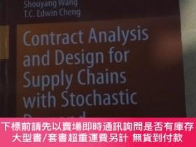 二手書博民逛書店Contract罕見Analysis and design for Supply Chains with Stoc