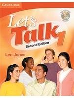 二手書博民逛書店 《Let s Talk Student s Book 1 with Self-study Audio CD》 R2Y ISBN:9780521692816│Jones