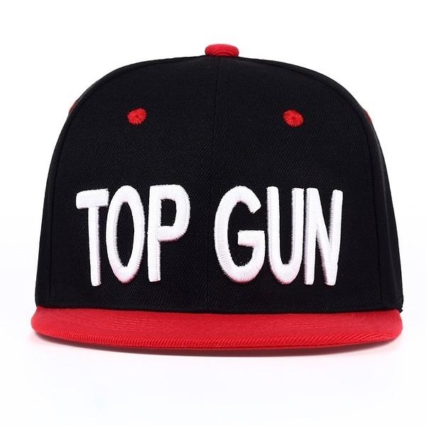FIND 韓國品牌棒球帽 男女情侶款 時尚街頭潮流 TOP GUN字母刺繡  帽