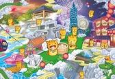 踏尋亞洲之心-台灣地圖 PuzzleStory /300P/我是貓/繪畫/