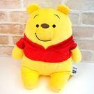 小熊維尼 抱枕娃娃 超舒服觸感 Mocchi-Mocchi 日本正品 M號 迪士尼 該該貝比日本精品 ☆
