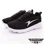 【ARNOR】超Q彈輕量蕾絲跑鞋-ARWR92130-優雅黑-女段
