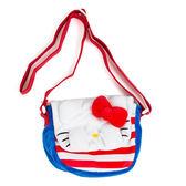 Sanrio HELLO KITTY躲貓貓造型小童用迷你絨毛斜背包★funbox★_104493