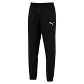 PUMA男款基本系列黑色束口防風褲-NO.85170701